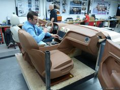 Bentley Bentayga interior model development