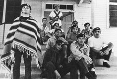 Brown Berets are a racially Mexican American group that emerged during the Chicano Movement. The Brown Berets focus on community organizing against police brutality and advocate for educational equality.
