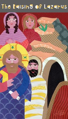 Teach about the Raising of Lazarus using puppets, fun printables and many activities!