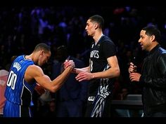 Take a look back at one of the best dunk contests in the history of All-Star Weekend between Zach LaVine and Aaron Gordon! About the NBA: The NBA is the prem. Nba Slam Dunk Contest, Zach Lavine, The Sporting Life, Minnesota Timberwolves, Orlando Magic, Best Player, Nba Basketball, Slammed, Videos