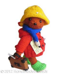 Paddington Bear by Loly Fuertes - Too cute
