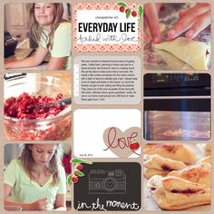 Digital Project Life | Jenn McCabe available at digitalprojectlife.com   Becky Higgins Project Life: Template M Midnight Edition Filler Cards  Midnight Edition Bifold Cards Midnight Edition First & Last Page Cards  Midnight Paper Pack 1  Kraft Paper Pack 1 also:  Amy Tangerine: Yes Please Brushes Ali Edwards: In The Kitchen No.3 & Love Brushes Crate Paper: Farmhouse Element Pack 1