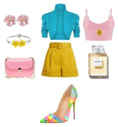 """Summer Fun #fashionblogger #fashion"" by quasia-taylor on Polyvore featuring Isa Arfen, WearAll, Valentino and plus size clothing"