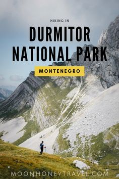 Durmitor National Park is a must-see destination in Montenegro. The best way to discover the beauty of the Durmitor mountains is by hiking. We've compiled all the best day hikes, so you can plan your trip. Europe Travel Tips, Travel Guides, Montenegro Travel, European Destination, European Travel, Hiking Essentials, Day Hike, Macedonia, Albania