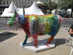 Cow-Parade   L.Tena - Artiste plasticienne