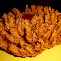 OUTBACK BLOOMING ONION  I am going to use their spice blend to make a mix for baked onion petals!