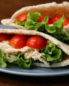 Healthy Meal-Prep Chicken Salad Pockets