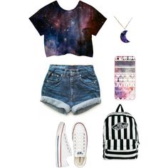 Casual, back to school outfit