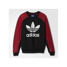 adidas Space Shifter Sweatshirt ($75) ❤ liked on Polyvore featuring tops, hoodies, sweatshirts, adidas, sweatshirt pullover, galaxy print top, adidas sweatshirt and sweat shirts