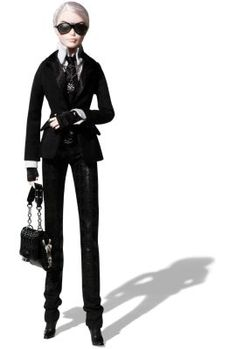 Karl Lagerfeld Barbie® Doll | The Barbie Collection