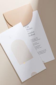 Wedding Card Print Styles Modern and clean wedding stationery design for stylish brides. Stationery Design, Invitation Design, Wedding Stationery, Wedding Invitations, Wedding Favors, Invites, Wedding Branding, Invitation Ideas, Invitation Cards