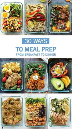 If your New Year's resolution is all about organization, make sure to check out this collection of 30 Easy Ways to Meal Prep. These quick, delicious, and healthy recipes are sure to inspire.