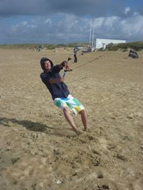 Carnac 2012, i tried to do windusrfing but at the beginning i stayed on the beach! Not so easy as You can see