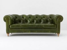 Chester Tufted Leather Sofa | west elm - Modern Furniture