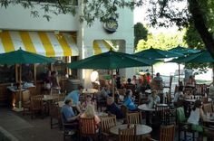 Alfresco dining  Many Howard County restaurants provide outdoor seating in nice weather, including Cacao Lane, Union Jack's, Clyde's, Great Sage, Rams Head Tavern, Leelynn's, AIDA Bistro & Wine Bar, Shanty Grille, The Stanford Grill, Waterside Restaurant and Alexandra's American Fusion.