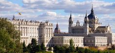 Palacio Real de Madrid y la catedral de la Almudena