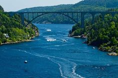 This is the bridge from Norway to Sweden, just a few miles from where I live.