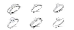 Exclusively Designed Real Diamond New Range of Engagement Rings Are here!! Be the 1st one to choose your design..