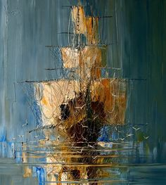 Oil painting by Justyna Kopania