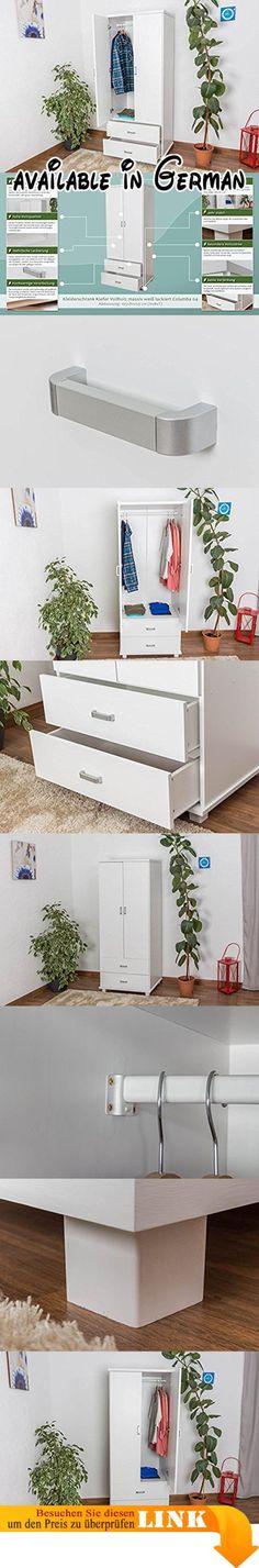B0774XWQHB : Kiefer Holzbett 90 x 200 cm Weiß. Maße: 50x97.5x206 ...
