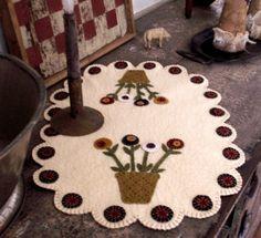 Basket of Flowers Runner E-Pattern