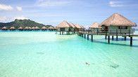 Matira Beach Bora Bora ~Tahiti