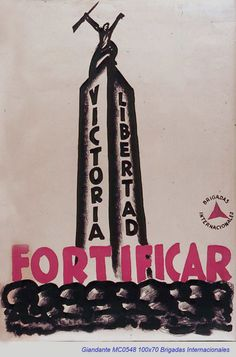 Spain  - 1936-39. - GC - poster - autor: Giandante