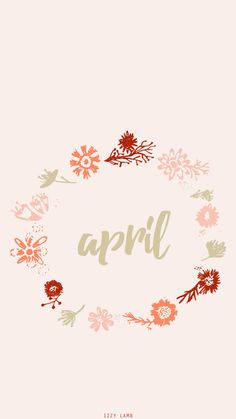April Wallpaper #iphone #iphonewallpaper #april #techwallpaper