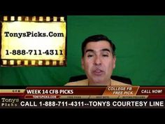 College Football Week 14 Picks Betting Predictions Point Spread Odds Pre...
