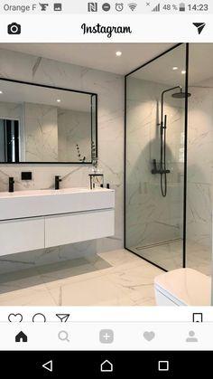 73 ideas de decoración para baños modernos pequeños 2019   BAÑOS Y ...