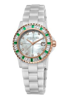Price:$232.00 #watches Stuhrling Original 273S.12EP5, Created in a blend of fashion and class, this Stuhrling timepiece exhibits a bold style that adds flare to your collection.
