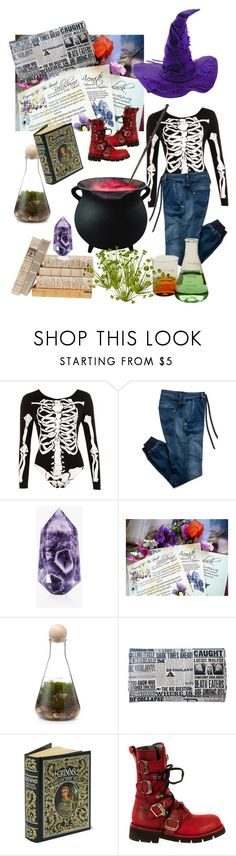 """""""✨Slytherin mixin Potions✨"""" by rilakkuma394 on Polyvore featuring WearAll and Replay"""