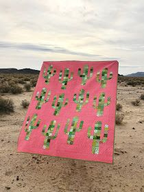 Kairle Oaks - Handcrafted Goodness: Saguaro Quilt Tutorial