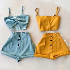 Chic and casual outfits 2019 charming, spring summer outfits ideas nice gorgeous teen fashion outfits Teenage Outfits, Komplette Outfits, Teen Fashion Outfits, Cute Fashion, Outfits For Teens, Stylish Outfits, Fashion Clothes, Cute Summer Outfits, Pretty Outfits