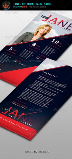 Political Campaign - Flyer & Ad Template Design | Political