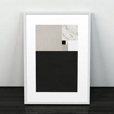 Modern art print Abstract wall art Minimalist by ShopTempsModernes
