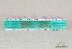 Livro concertina flores VM - Ateliê Fofurices