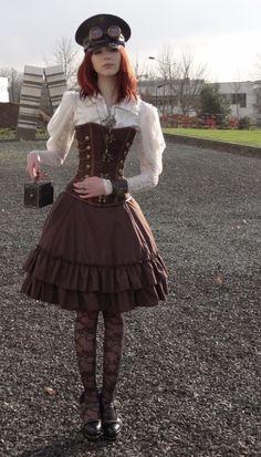 Steampunk Mechanic Girl | Steam Punk Cosplay [Editorial]