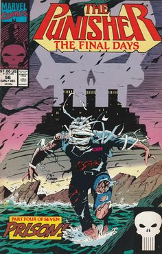 The Punisher # 56 Marvel Comics Vol. 2