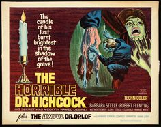 The Horrible Dr. Hichcock (1962) Stars: Barbara Steele, Robert Flemyng, Silvano Tranquilli ~  Director: Riccardo Freda