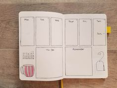 Bullet Journal Addict - Tea Time Theme - November 2019 Bullet Journal Layout November Week 2 weekly bullet journal spread with hand drawn teacup and tea bag Bullet Journal Yearly Spread, Bullet Journal Index, December Bullet Journal, Bullet Journal Quotes, Bullet Journal Tracker, Bullet Journal Printables, Bullet Journal How To Start A, Bullet Journal Aesthetic, Bullet Journal Writing