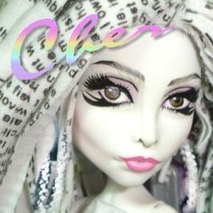 cher woman's world ooak doll monster high