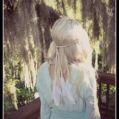 Feather HeadBand, Native American, from Dieselboutique   Feather