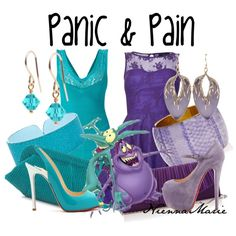 """Panic & Pain"" by niennamarie on Polyvore"
