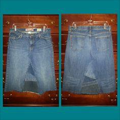 Custom jean skirt order
