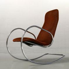 Located using retrostart.com > S826 Rocking Chair by Alexander Böhme for Thonet