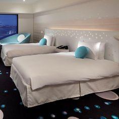 Celebrio Room in Hilton Bay Tokyo vossy.com