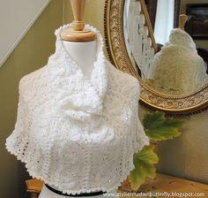 Ravelry: Frosty morning cowl/snood pattern by Lidia Tsymbal  DK yarn,  Pattern $3.50