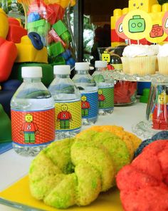 Lego theme Birthday Party Ideas | Photo 2 of 19 | Catch My Party