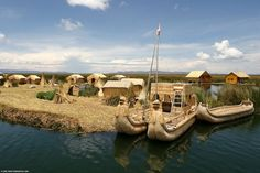 The Floating Man-Made Islands of Lake Titicaca